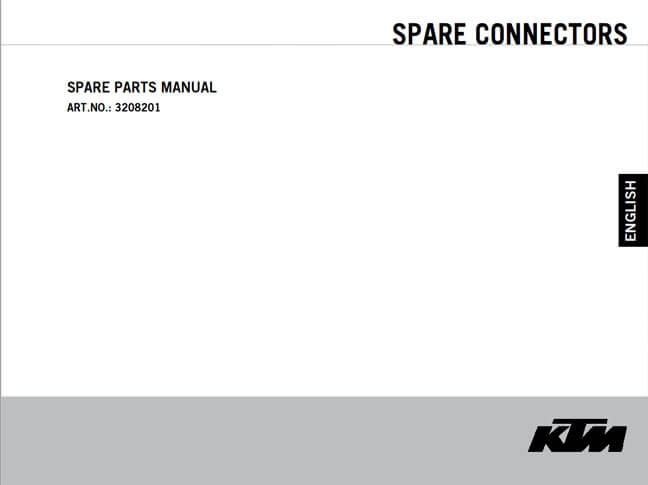 Spare Parts Manual